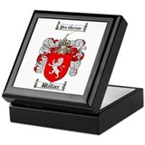 Wallace Coat of Arms Keepsake Box