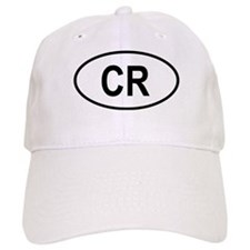Costa Rica Oval Baseball Cap