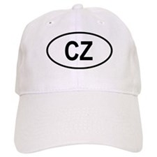 Czech Republic Oval Baseball Cap