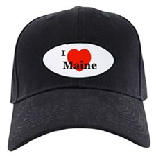 I Love Maine Baseball Hat