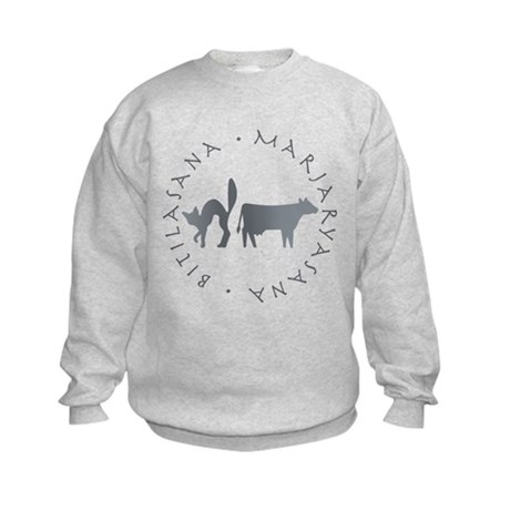 Cat-Cow Kids Sweatshirt
