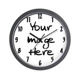 Unique Your image Wall Clock