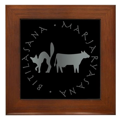 Cat-Cow Framed Tile