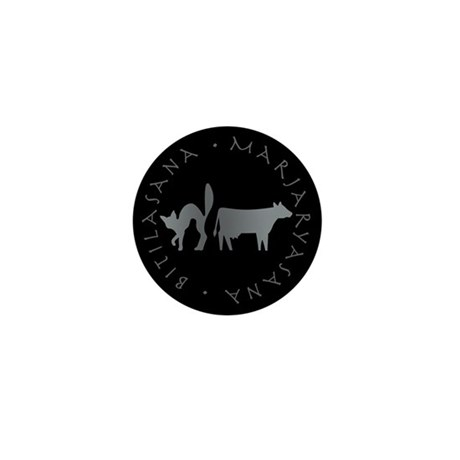 Cat-Cow Mini Button (10 pack)