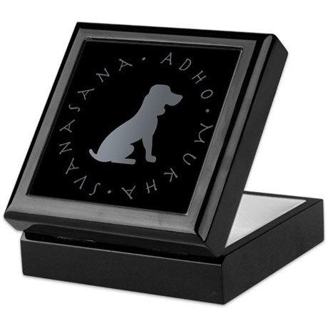 Down Dog Keepsake Box