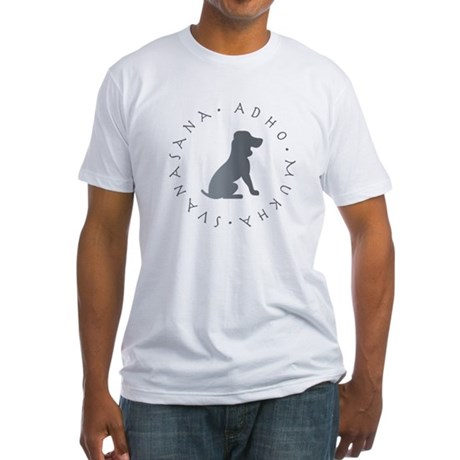 Down Dog Fitted T-Shirt