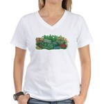 Shade Garden Women's V-Neck T-Shirt