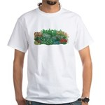 Shade Garden White T-Shirt