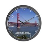 San Francisco Souvenir Wall Clock