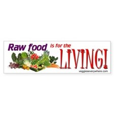 Raw Food Bumper Bumper Sticker