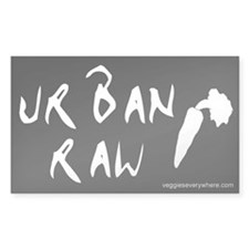 Urban Raw Rectangle Decal