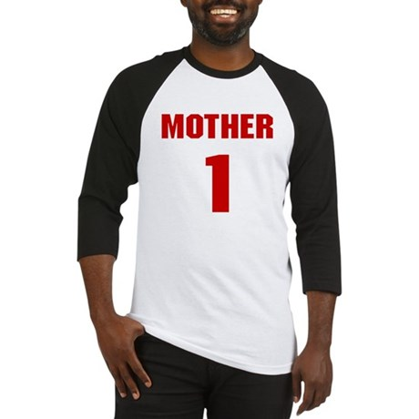 #1 Mother - Jersey Baseball Jersey