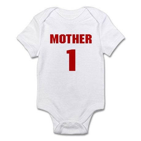 #1 Mother - Jersey Infant Creeper