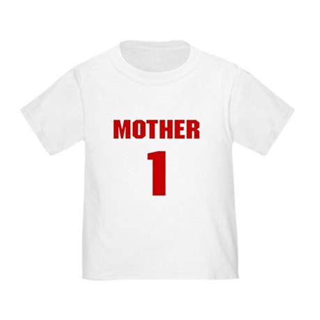 #1 Mother - Jersey Toddler T-Shirt