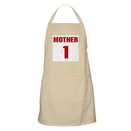 #1 Mother - Jersey BBQ Apron