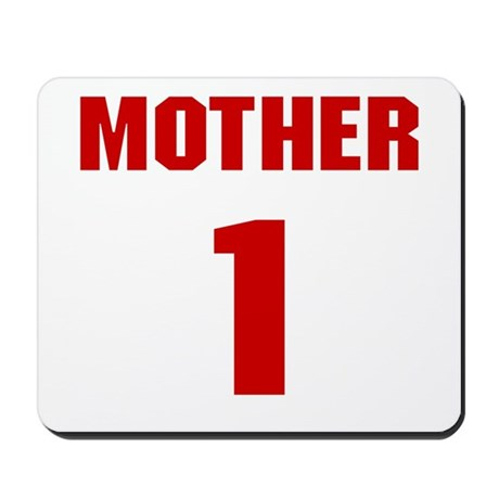 #1 Mother - Jersey Mousepad