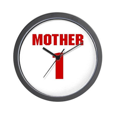 #1 Mother - Jersey Wall Clock