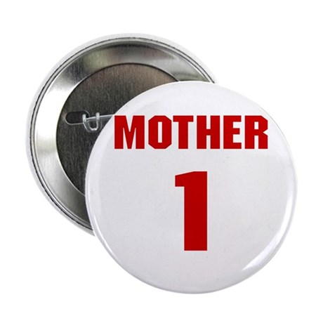 #1 Mother - Jersey Button