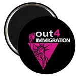 """Out4Immigration 2.25"""" Magnet (100 pack)"""