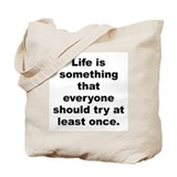 Henry j tillman quotation Tote Bag