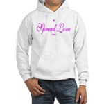Spread Love Hooded Sweatshirt