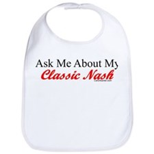 """Ask Me About My Nash"" Bib"