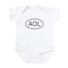 AOL Infant Bodysuit