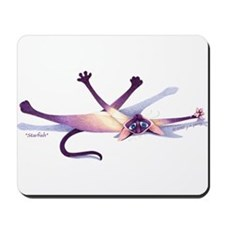 "J. S. Perry Siamese Cat ""STARFISH"" Mousepad"