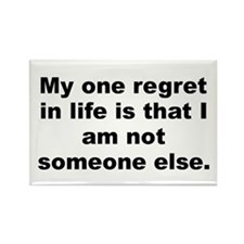 Cute Life quotes Rectangle Magnet