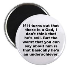 "Funny Allen quote 2.25"" Magnet (10 pack)"