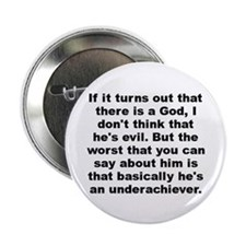 "Funny Allen quote 2.25"" Button (100 pack)"