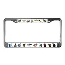Tree Frogs License Plate Frame