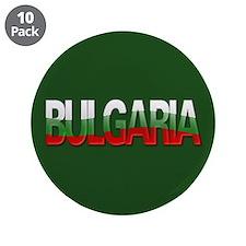 """""""Bulgaria Bubble Letters"""" 3.5"""" Button (10 pack)"""