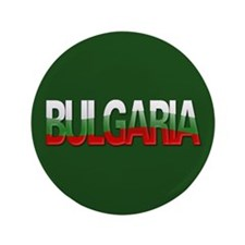 """Bulgaria Bubble Letters"" 3.5"" Button"