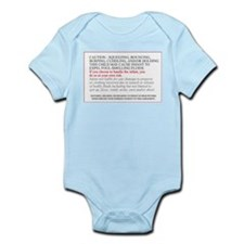 Legal disclaimer Infant Onesie