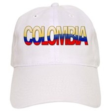 """Colombia Bubble Letters"" Baseball Cap"
