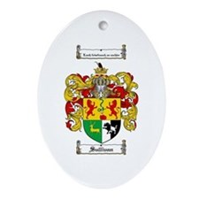 Sullivan Coat of Arms Oval Ornament