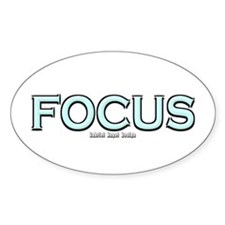 Focus Oval Decal