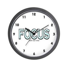 Focus Wall Clock