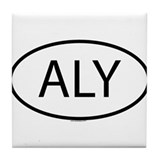 ALY Tile Coaster