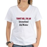 Trust Me I'm an International Aid Worker Shirt