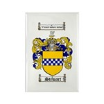 Stewart Coat of Arms Rectangle Magnet (10 pack)