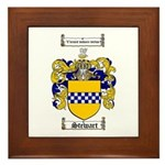 Stewart Coat of Arms Framed Tile