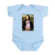 Mona Lisa (new) & Whippet Infant Creeper