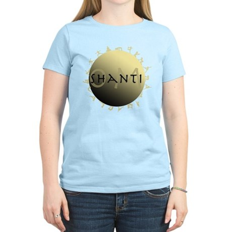 Om Shanti Women's Light T-Shirt