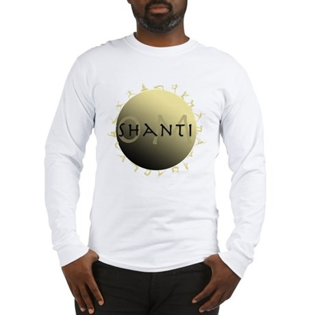 Om Shanti Long Sleeve T-Shirt