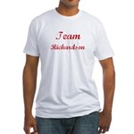 TEAM Richardson REUNION  Fitted T-Shirt