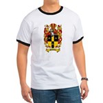 Simmons Coat of Arms Ringer T