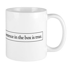 The Sentence in the Box Mug