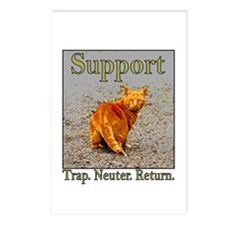 Support Trap Neuter Return Postcards (Package of 8
